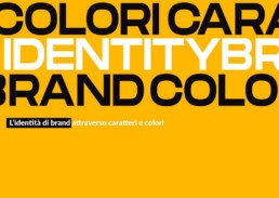 identità brand attraverso caratteri e colori blog laccademya